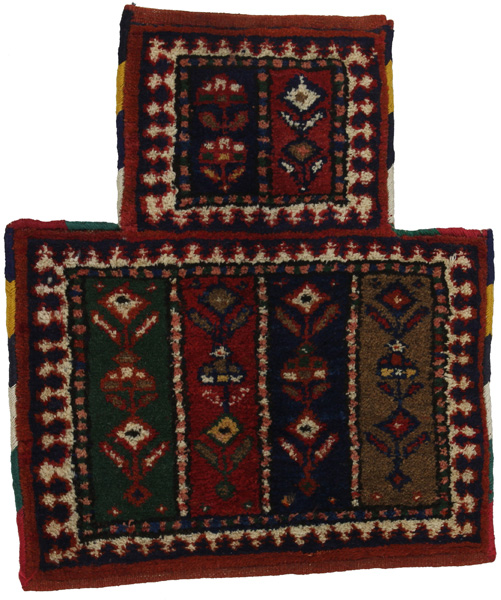 Afshar - Saddle Bag Tapis Persan 48x40
